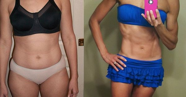 140lbs to 120lbs in 3 1/2 months. She lists her workout routine