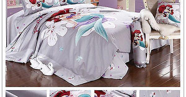 2018 New Disney Little Mermaid Bedding, Little Mermaid Bedding Full Size