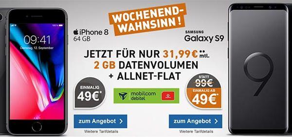 Mobilcom Debitel Comfort Allnet Iphone Handyvertrag Apple Iphone