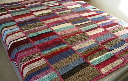 Scrap Afghan Crochet Pattern Crochet Afghans