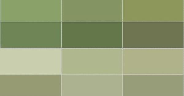 Olive Green Paint Names Tips