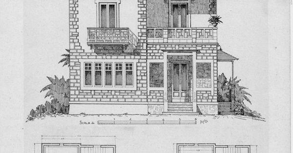 Ville e villette moderne progetti e schizzi di fa for Piani casa hacienda