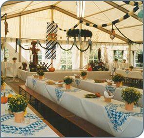 Bayern Partydeko Bayrische Feier Dekoration Wiesn Deko Set Bierzelt Partyzubehör