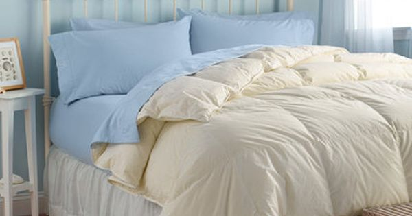 Ll Bean Baffle Box Stitch Down Comforter Warm 289