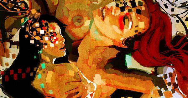 Collage Lesbians 61
