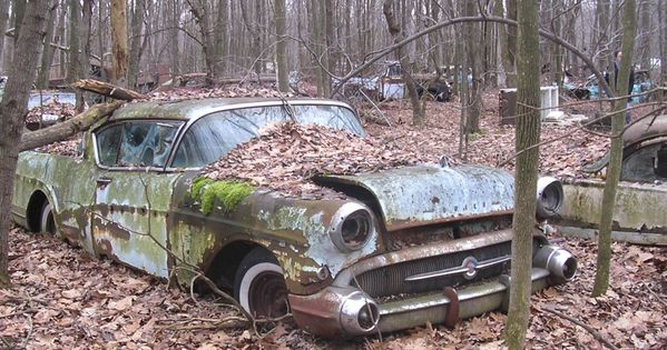 Pin By Mike Blumenfeld On Rust In Peace Abandoned Cars Abandoned Car