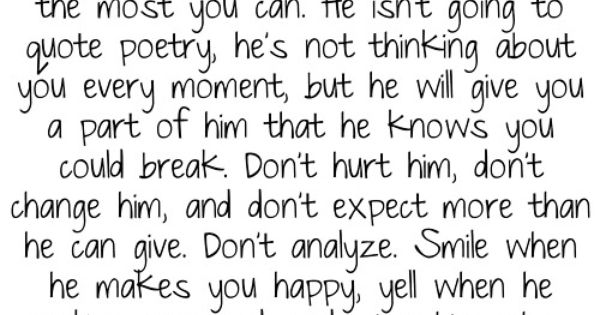 Bob Marley quote on the perfect man