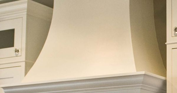 5 Custom Curved Drywall Range Hood It Was Painted To
