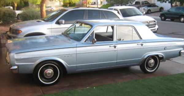 1966 Dodge Dart 4 Door First Car I Ever Owned Never Looked