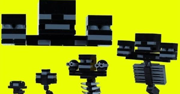 lego minecraft wither instructions