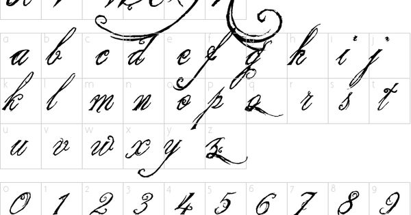 King And Queen Font By Weknow: Character Map Http://www.1001freefonts.com/the_king_and