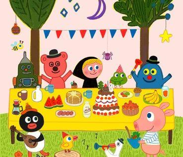 Gallery Goolygoolyfriends Cartoon Illustration Character Illustration Illustration Design