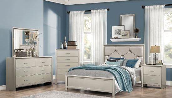 Item 205181 Complete Queen Bed Room Set Includes Queen Bed Dresser