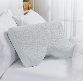 Serta Perfect Curve Gel Memory Foam Pillow Memory Foam Pillow Foam Pillows Gel Memory Foam