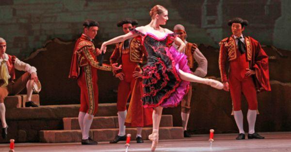 Alexis Polito As Mercedes The Street Dancer In Joffrey Ballet S Don Quixote Ballet Chicago Joffrey Ballet Don Quixote