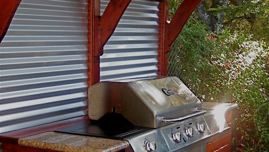 Staggering barbecue grill decorating ideas for magnificent - Coleman small spaces bbq decoration ...