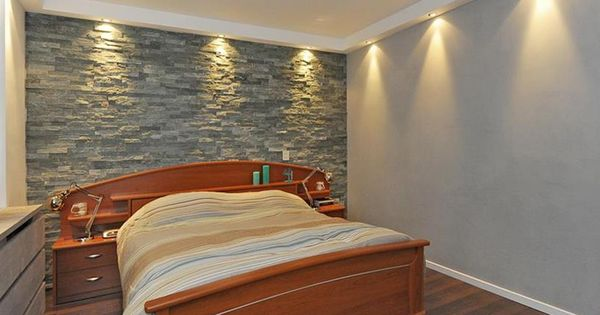 Slaapkamer met spotjes in het plafond bedroom with build in spots for the home pinterest - Modern bed volwassen ...