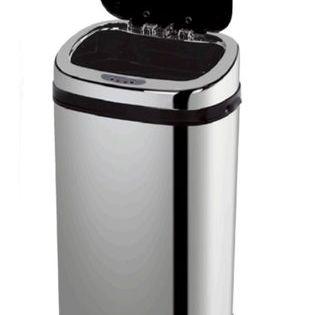 Cubo De Basura De Cocina Con Cubeta Extraíble 42 L Automático Brillo