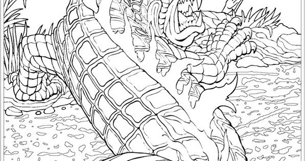 cryptid coloring pages - photo#21