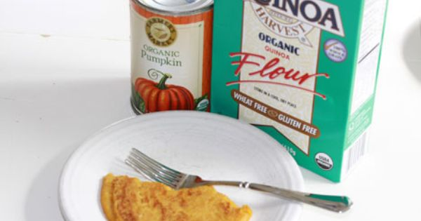 Meet Your New Favorite Breakfast Recipe: Pumpkin-Quinoa Pancakes