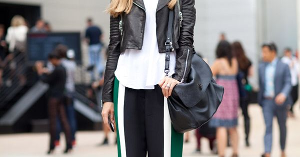 Street Chic: New York Fashion Week. Joanna Hillman kicks off Fashion Week