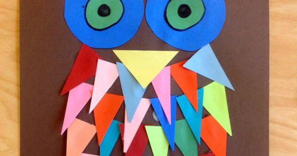 shape owl art
