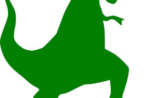 green t rex silhouette clip art vector clip art online royalty rh clipartblog wordpress com clipart t-shirt black and white clipart t-shirt black and white