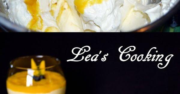 Lea's Cooking: Mango Mousse Recipe