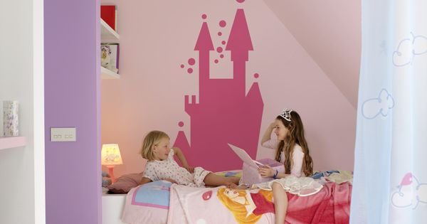 Kinderkamer Rosa : ... : Toverprinses Kleurinspiratie Kinderkamer ...