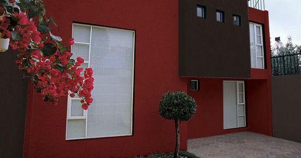 Una fachada vibrante y diferente hogar tips consejos for Colores de pinturas exteriores de moda