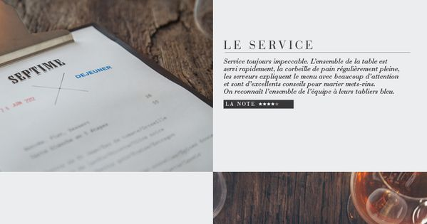 Restaurant Paris // simple resturant website design web