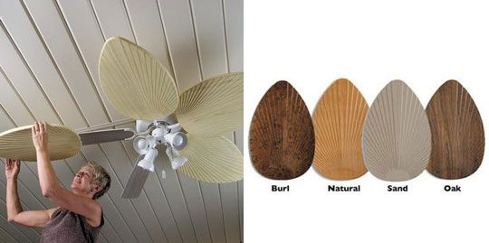 Fan Blades From Skymall Ceiling Fan Blade Covers Fan Blades Wood Ceiling Fans