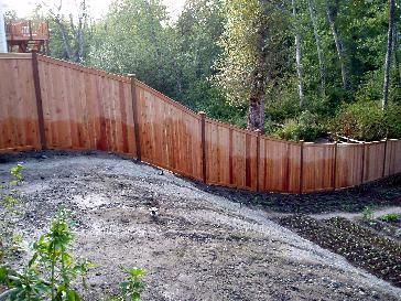 6 Cedar Fence Pictures Front Yard Types Of Fences Backyard