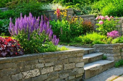Perennial Flower Bed Designs for a Garden That Resembles ... on natural water fountain design, natural building design, natural walkways, natural bird house design, leather bed design, natural landscaping design, natural wood design,