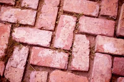 How To Install Pavers On Unlevel Ground Brick Paver Driveway