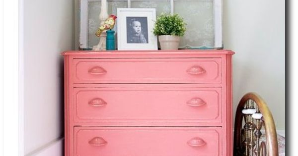 Pink Painted Furniture With Chalk Paint 80