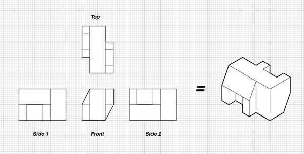 Orthographic drawing | Orthographic Drawing | Pinterest | Orthographic ...