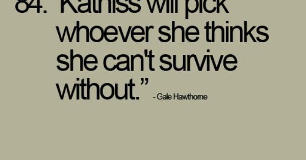 Gale Hawthorne, Mockingjay.