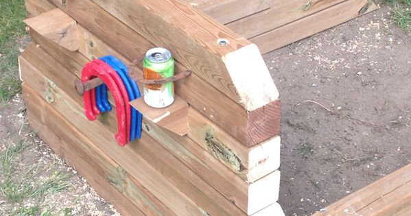 Horseshoe Pits | Projects to Try | Pinterest | Woods