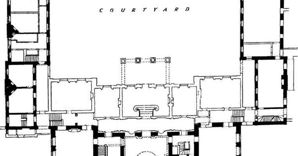 Marlborough house the residence of edward prince of for Marlborough house floor plan