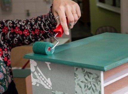 Como pintar m veis de formica o laminado melam nico mais conhecido como formica um tipo de - Como pintar sobre formica ...