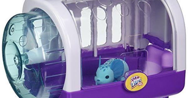 Little Live Pets Lil Mouse Cage Jungle Wonder Blue Most