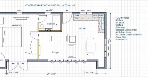 Bedroom Self Contained Annex Floor Plans