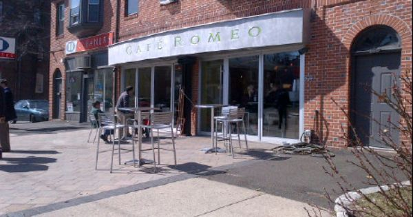Cafe Romeo East Rock New Haven Ct Cafe Great Places New Haven