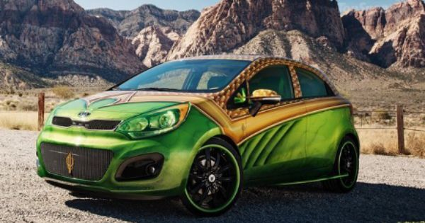 The Kia Aquaman Car Has Scales Too Much Does It Submerge We Can