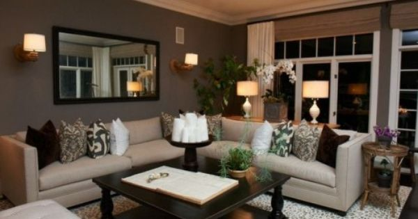 Grays, browns and neutrals living room. Dream House idea
