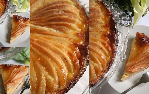 Pear tart, Pears and Tarts on Pinterest