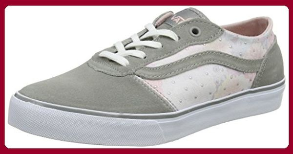 Vans W Milton (Suede) Cordova, Damen Sneaker Low Tops , Grau