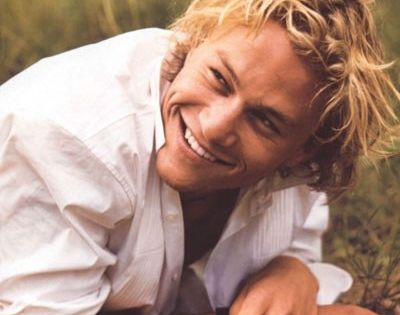 Heath Ledger. Hot (duh!), but also a great actor! Gone far too