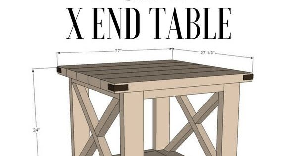 Check Out The Tutorial For An Easy Rustic DIY End Table @istandarddesign  April 30, 2017 At 06:33AM
